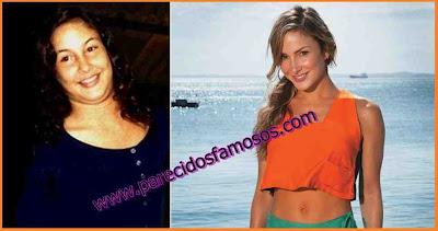 Claudia Leitte Actriz Brasileña antes y después