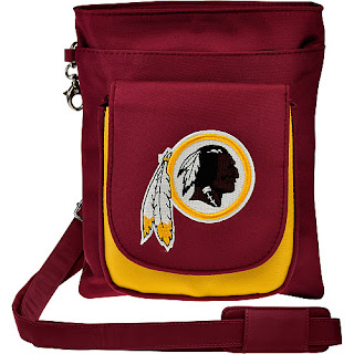 Washington Redskins NFL Game Day Traveler Purse