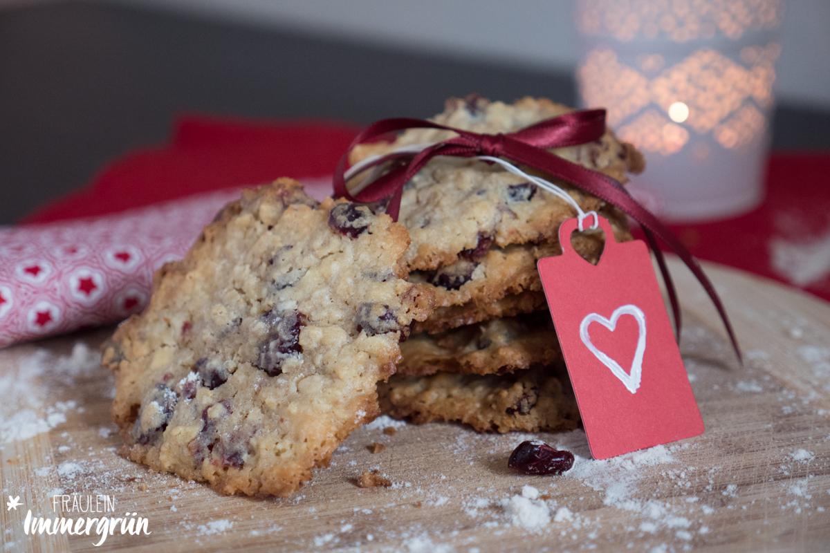 fr ulein immergr n k chensonntag cranberry wei e schokoladen cookies. Black Bedroom Furniture Sets. Home Design Ideas