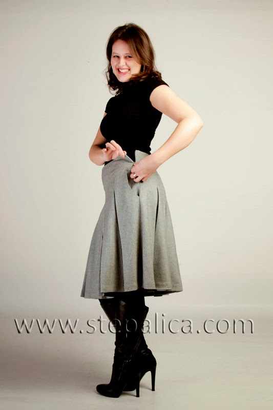 Stepalica: Zlata skirt Pattern #1401 - variation C