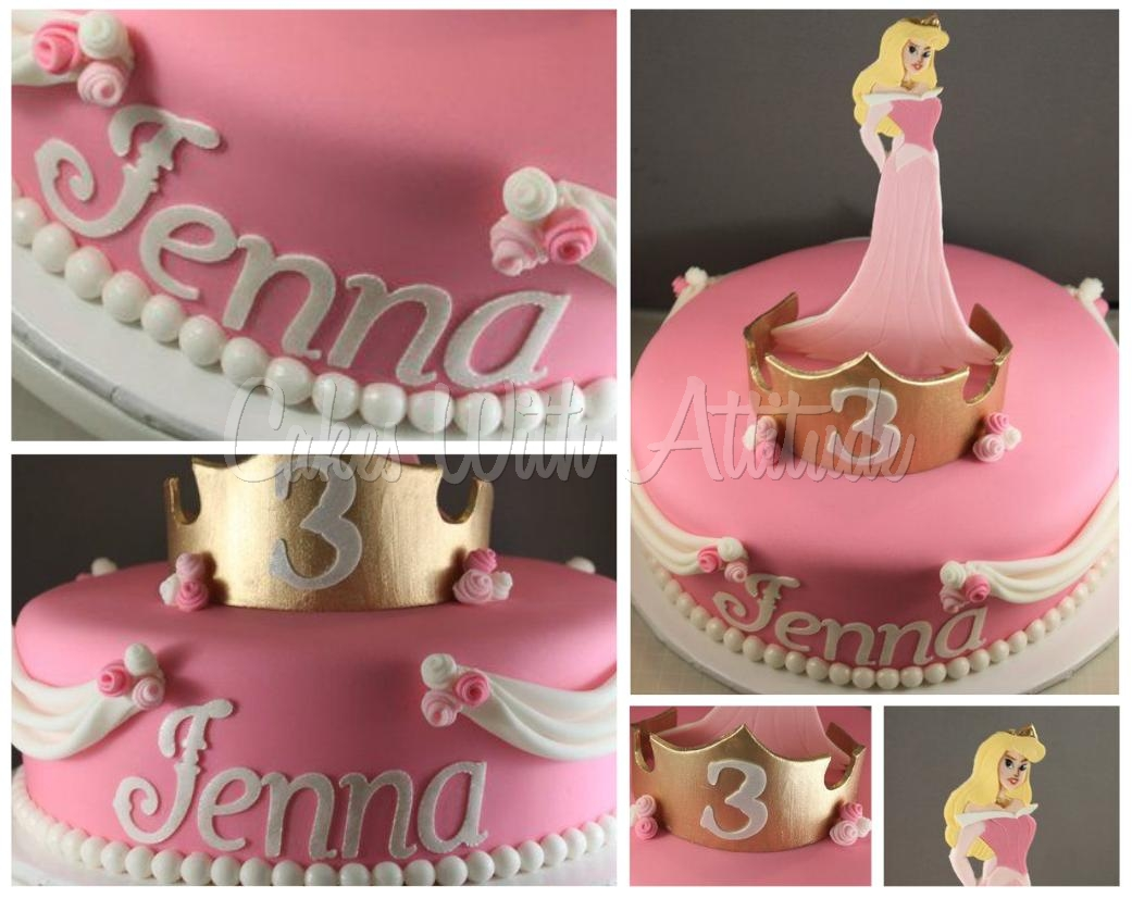 Princess Aurora Birthday Cake Ideas Image Inspiration of Cake