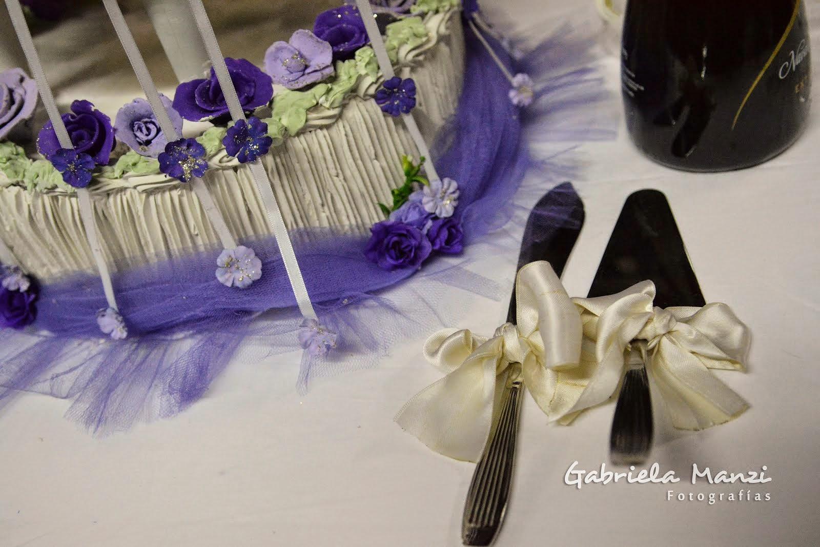 La mesa de bodas...