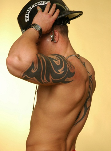 Tattoos spot tattoos for men on forearm for Shoulder and arm tattoos