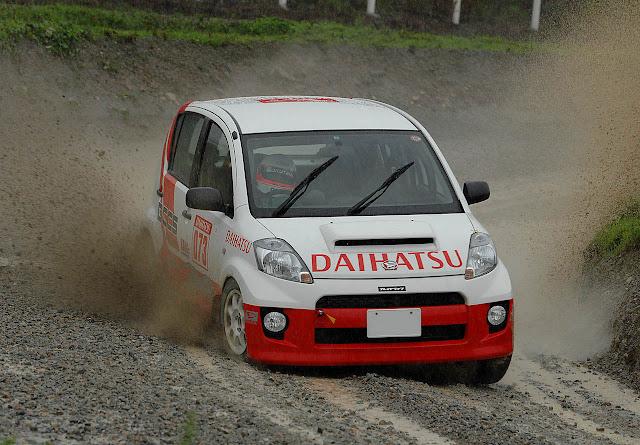 Daihatsu Boon, auta używane do sportu, wyścigi, Japonia, JDM, miejskie samochody używane do wyścigów, rajdy