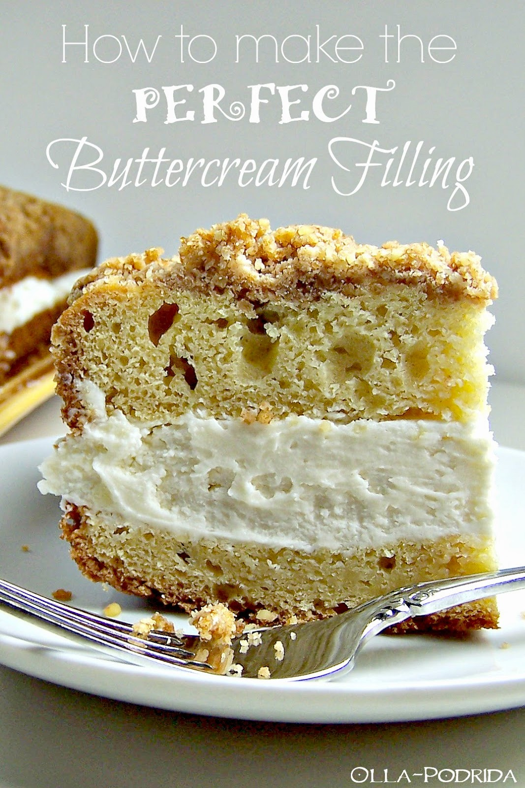 photo How to Make Buttercream Filling