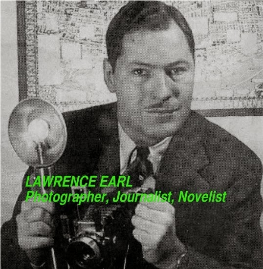 Lawrence Earl photographed in London, circa 1954