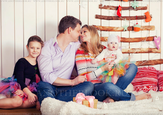 красивая семья фотосессия
