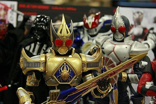 Firestarter's Blog: Medicom Kamen Rider Blade King Form In The Works