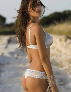 Catrinel Menghia sexy Lormar Lingerie