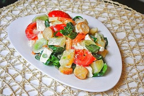 Les recettes du niglo une salade pour se donner bonne conscience quand on a fait un grand repas - Quand repiquer les salades ...