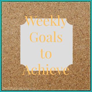 Goals, Menu Plans