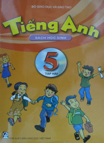 Sách giáo khoa tiếng Anh 5 - Quyển 2