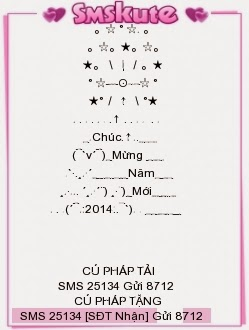 SMS chúc tết Giáp Ngọ 2014 dễ thương nhất