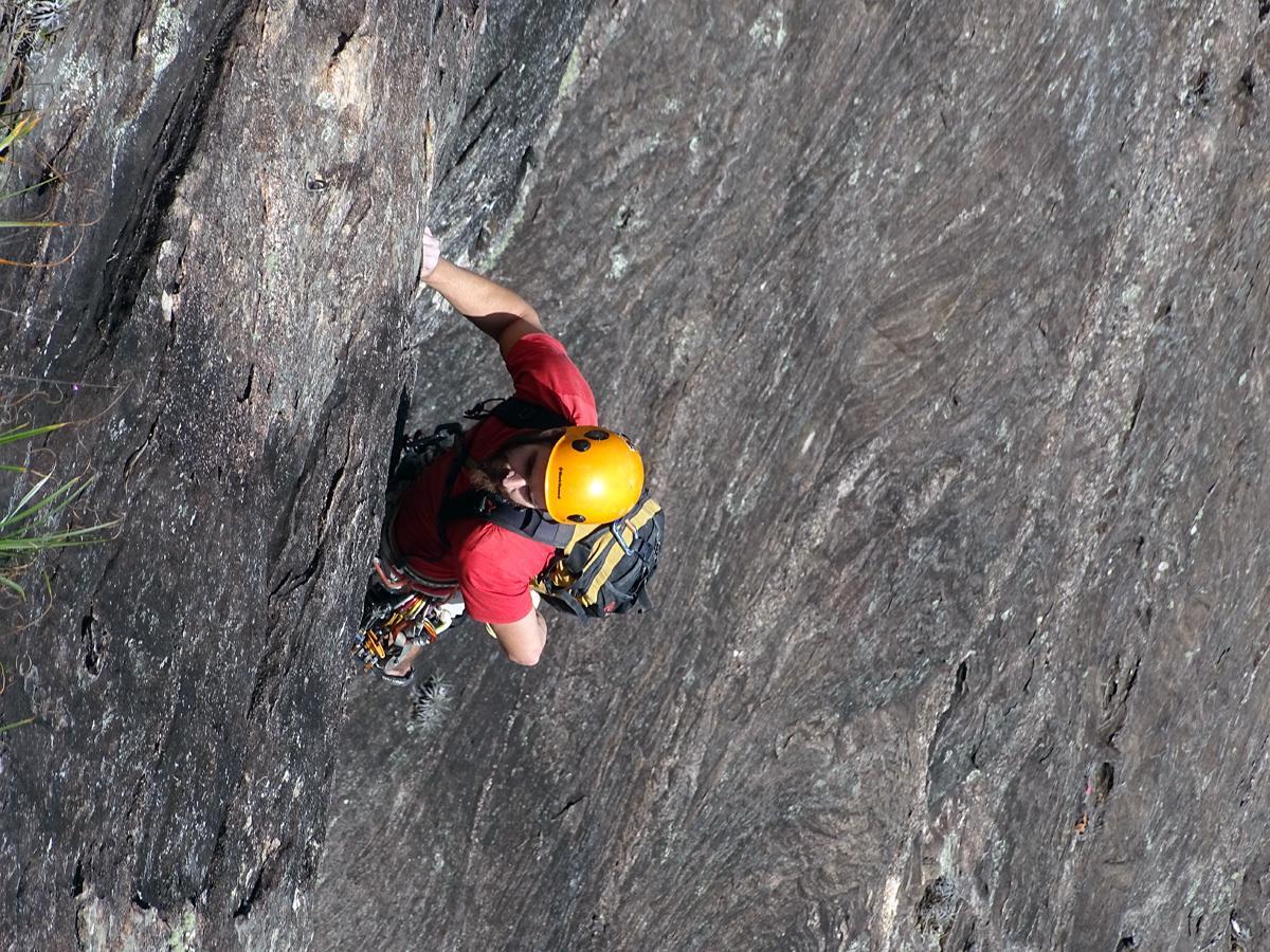 Cursos e aulas de escalada