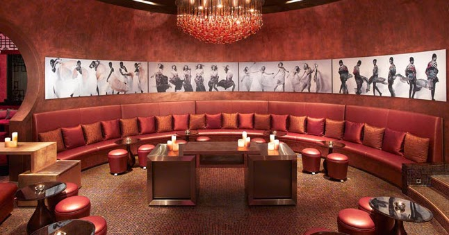 Trendsetter Interiors HBA Designs The Living Room A Bar Lounge Exclusively For Grand Hyatt Dubai