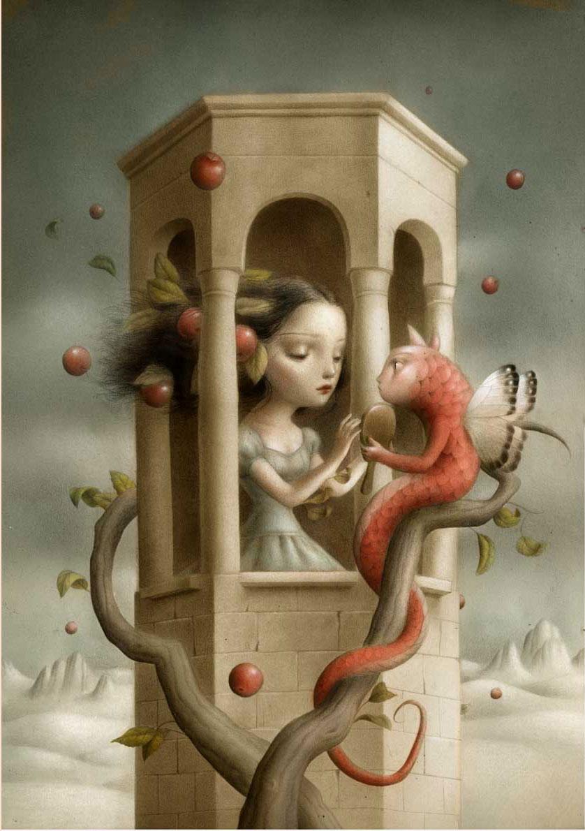 ©Nicoletta Ceccoli. Frágil Ternura. Ilustración | Illustration