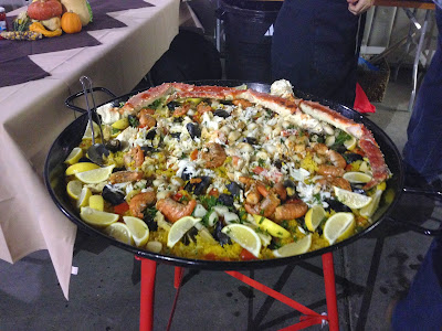 It's not everyday someone throws a fish at you: The Berryessa Gap Paella Cook-Off