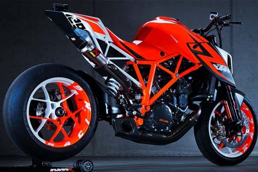 Gambar Motor Sport KTM Super Duke 1290 R Patriot Edition