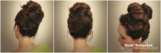 Messy+Bun mk Cute Messy Bun   Quick Everyday Updo Hairstyles   Hair Tutorial Videos