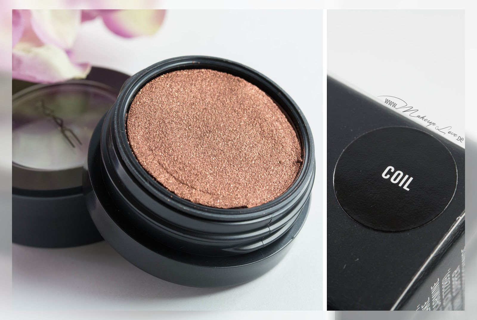 MAC A novel of romance LE Haul Electric Cool Eye Shadow Coil