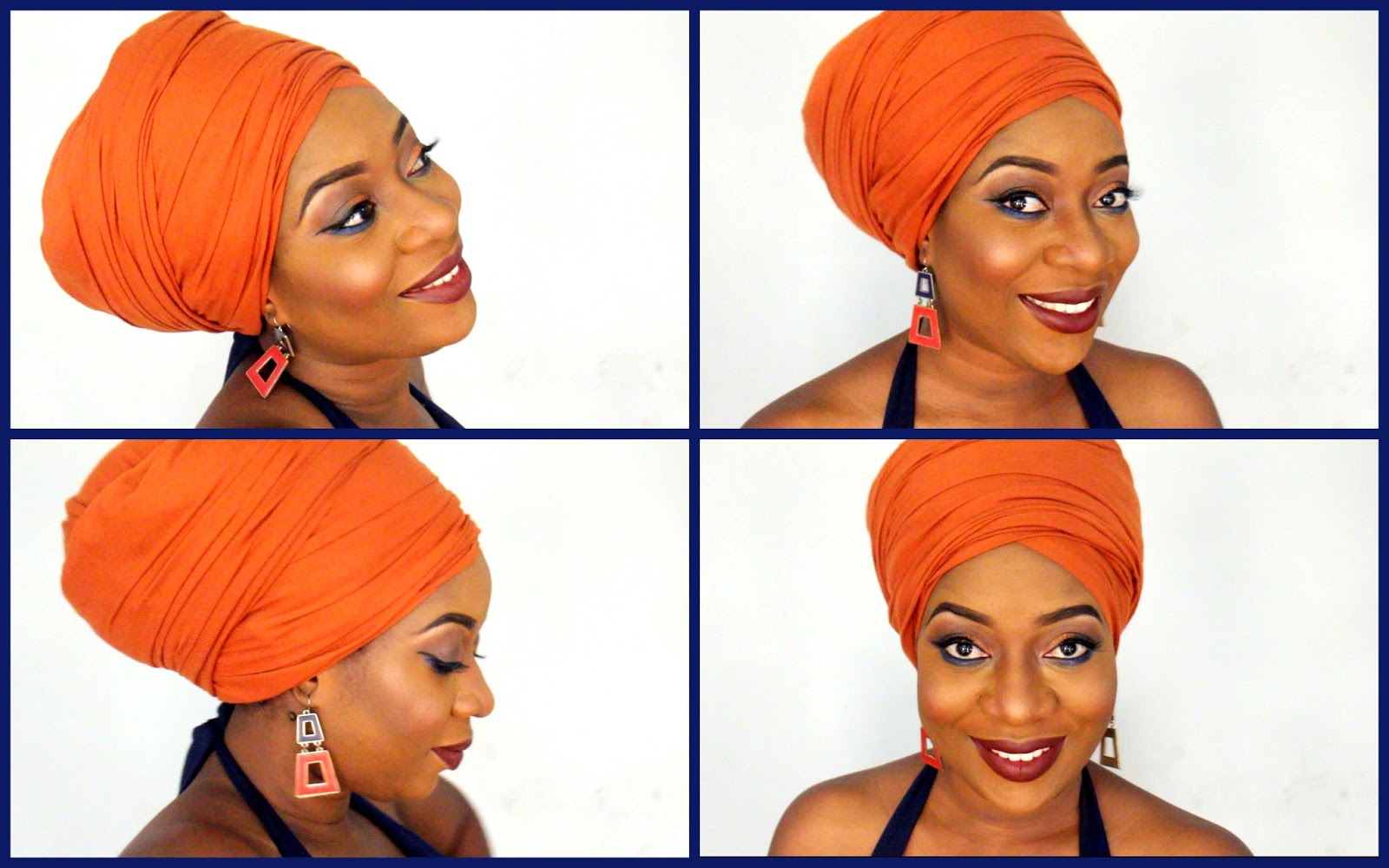 How i tie a turbanhead wrap very easy sisiyemmie nigerian in my recent vlogs ive been tying turbans because of mostly bad hair days or for a different look ive gotten so many requests to show how i do it and ccuart Image collections