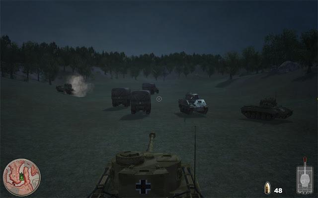 لعبة حرب الدبابات القديمة Military Life Tank Simulator