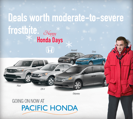 Pacific Honda Blog: Happy Honda Days at Pacific Honda!