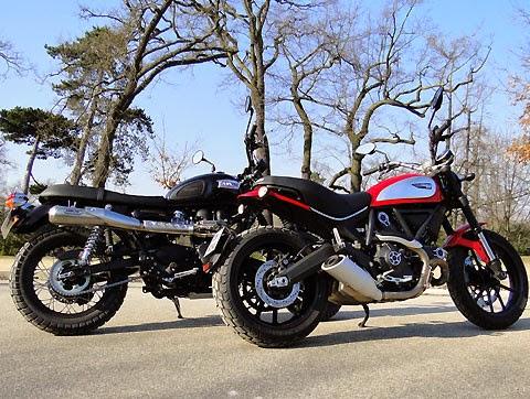 Duel Scrambler: Ducati VS Triumph