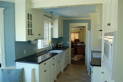 Galley Kitchen Color Scheme