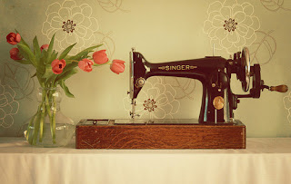 all crafts How To Thread A Sewing Machine {step by step}