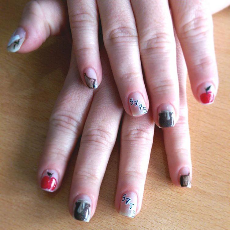 Rosh Hashaná nail art