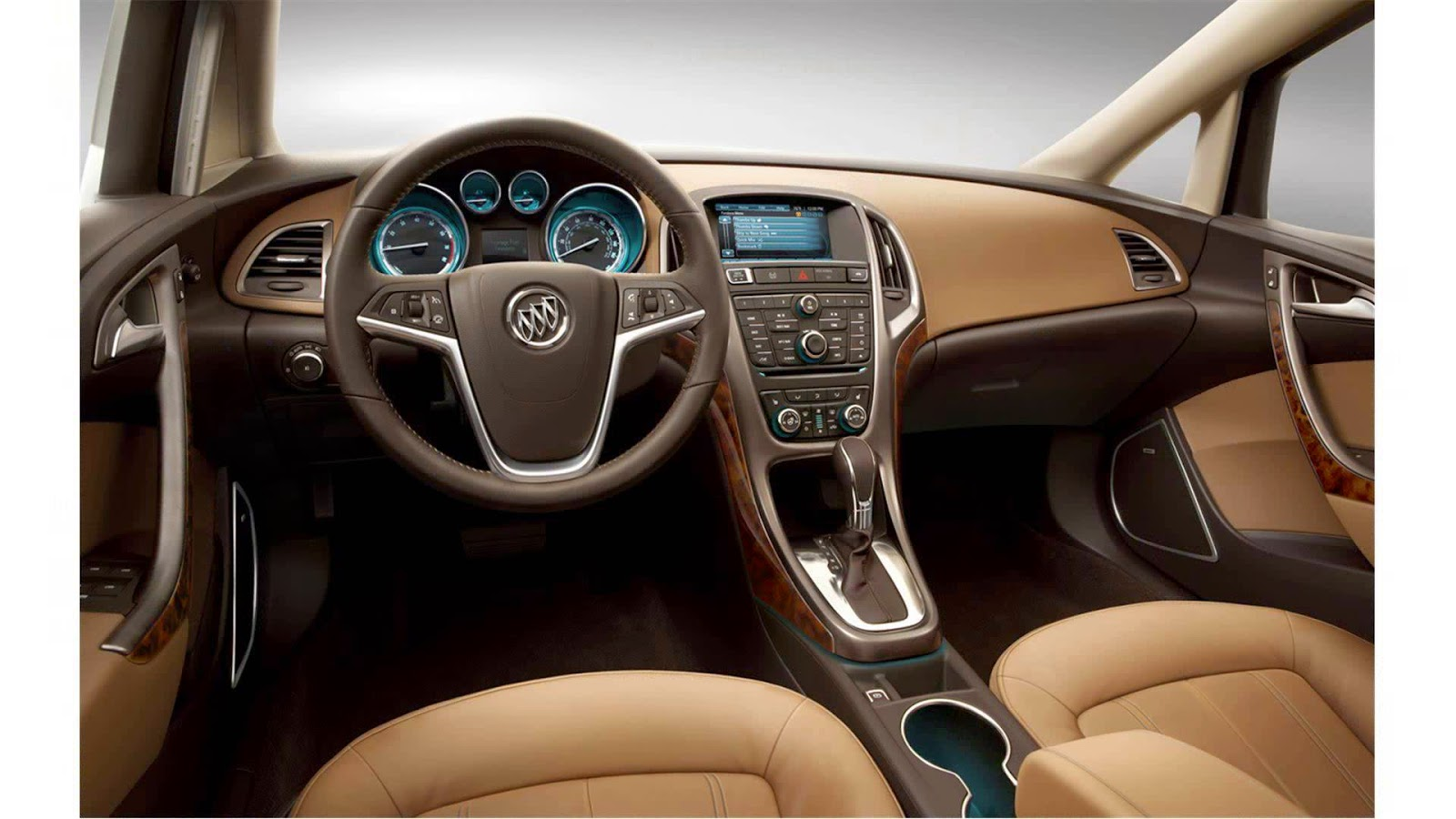 Interior view of 2015 Buick LaCrosse