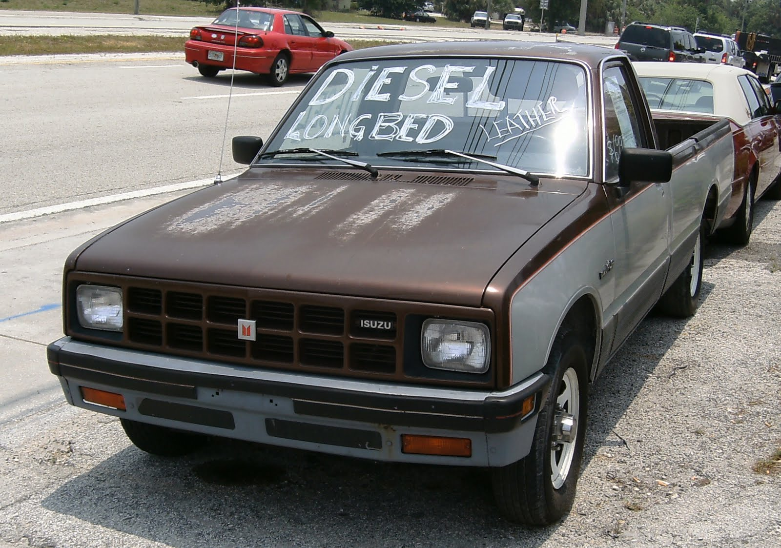 Curbside Classic: 1984 Isuzu Pickup: Found In A Surprising Location