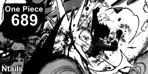 One Piece Mangá 689 - Uma ilha que não parece estar lá