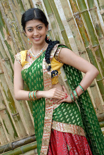 Pranitha latest  saree stills 00.jpg