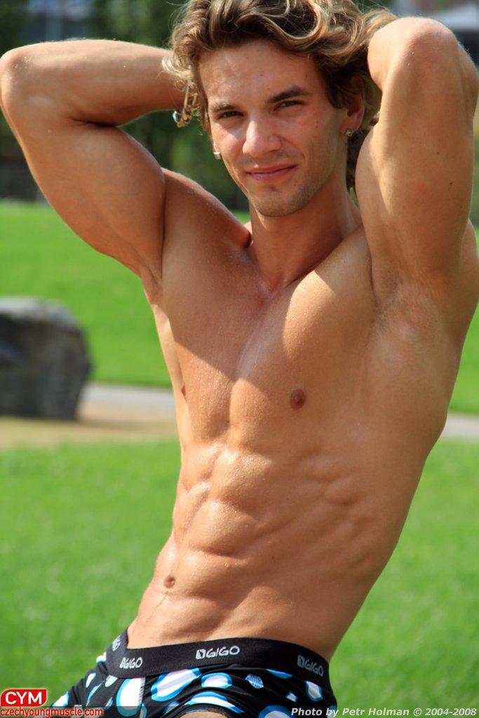Picture About Male Fitness Model Filip Jurka