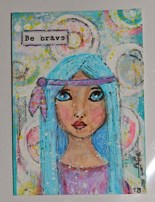 Be Brave by Tori Beveridge 2014