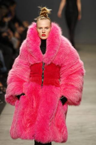 Pink Fur Fashion for Girls 2013