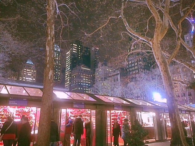 Bryant Park skating rink, Bryant Park Christmas holiday, what to do in New York City, christmas in NYC, tree in park New York, holiday shopping in NYC, great gifts New York City, winter skating in Bryant Park, what to see in NYC holiday