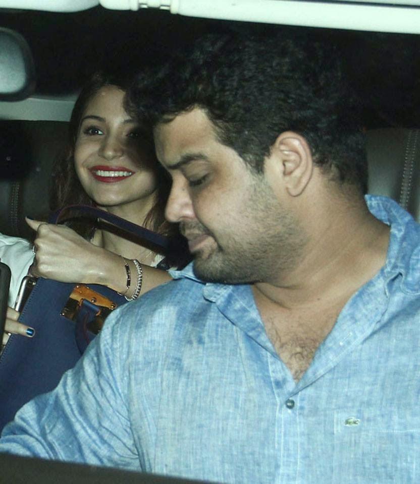 Anushka Sharma & Virat Kohli snapped outside