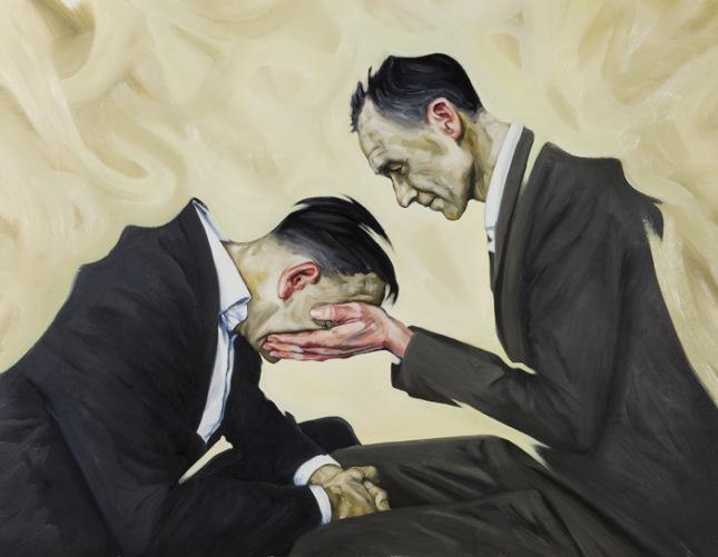 Doctor Ojiplático. Peter Ravn. Pintura actual