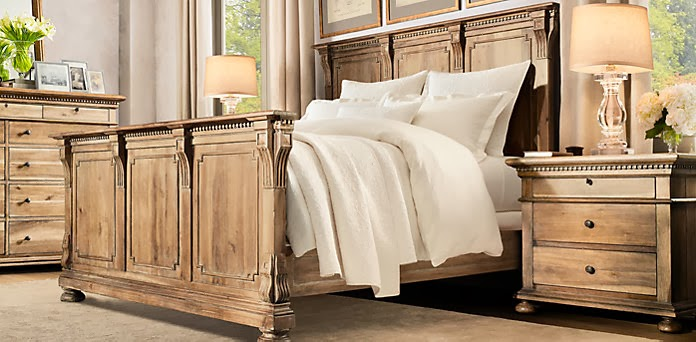 Restoration hardware st james bedroom collection decor - Restoration hardware bedroom furniture ...