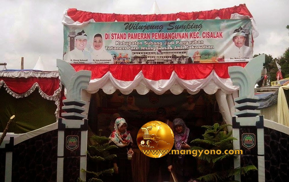 Stand Kec. Cisalak, Pameran Pembangunan 2015.