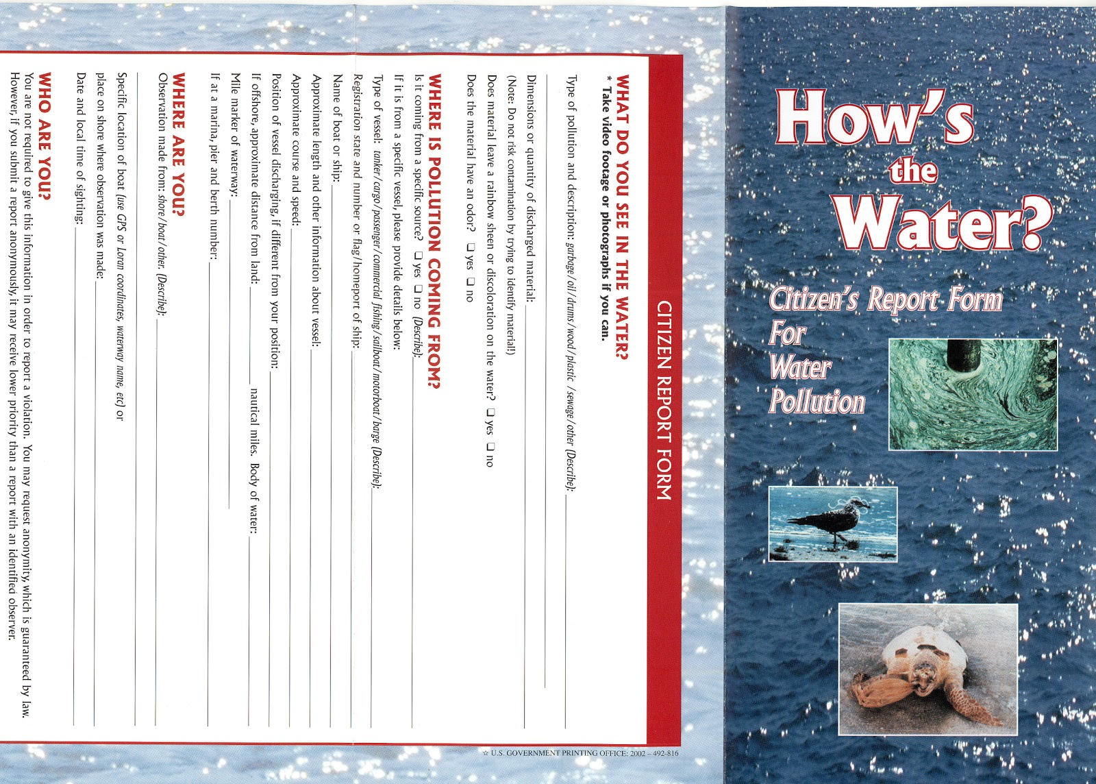 Brochure Zafira Pics: Brochure Templates Pollution