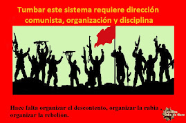 Tumbar este sistema requiere dirección comunista, organización y disciplina