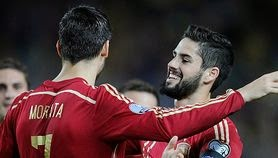 Video Gol Spanyol vs Ukraina 1-0 Piala Eropa 2016