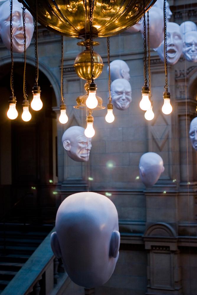 Kelvingrove Museum heads
