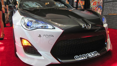 Five Axis Tunes Scion FR-S: E3 Capcom Street Fighter Edition