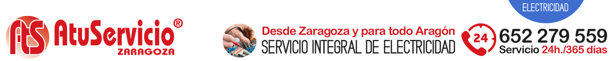 AtuServicio - 652 279 559 - Electricista en Zaragoza