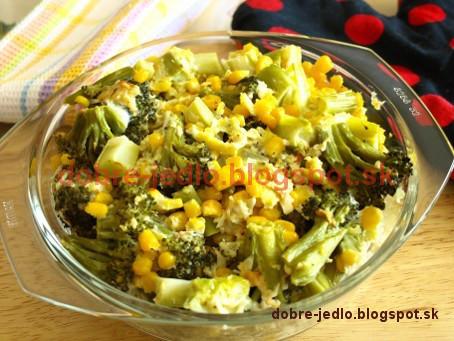 Brokolica so syrovou omáčkou - recepty